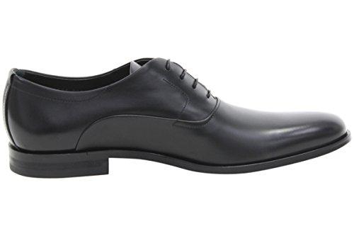 Hugo Boss Mens Sigma_oxfr_lt Zwart Lederen Oxfords Schoenen