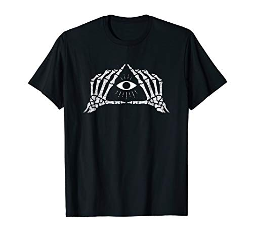Shane Dawson Skeleton All-Seeing Eye T-Shirt