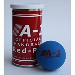 A-1 Official Red-Pro Handballs