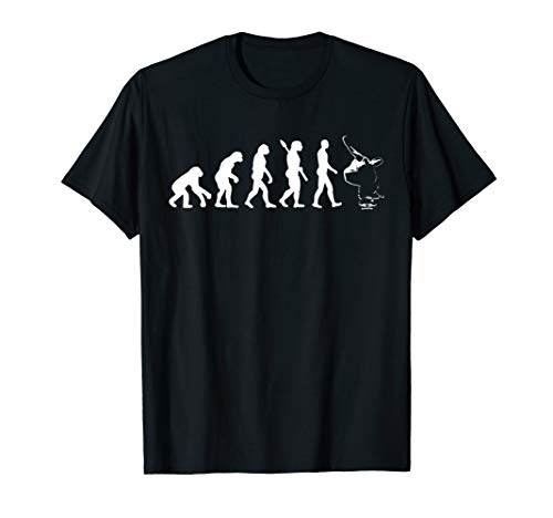 Skateboard Evolution T-Shirt Funny Skater/Skateboarding Gift T-Shirt