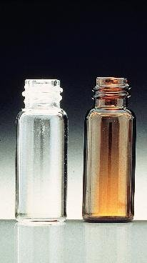 KIMBLE 60910-1 Clear 1-Dram Screw Thread Glass Sample Dram Vial Without Cap, 13-425 GPI Finish (Case of 3456)