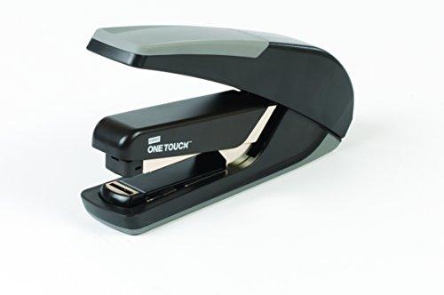 Flat Stapler Stack - Staples One-Touch Plus Desktop Flat Stack Full Strip Stapler, 30 Sheet Capacity, Black (25110)