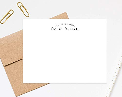 Custom Stationery Folded Blank Cards with Envelopes Leopard Purse Note Card Set of 10 Gifts Fashion Personalized Stationery