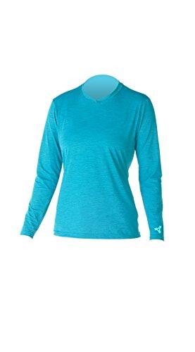 Xcel Lana 4-Way Series Long Sleeve UV Wetsuit, Heather Ocean Blue, Small