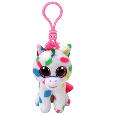 Ty T35211 Harmonie Unicorn-Boo Key Clip, Multicolored: Toys & Games