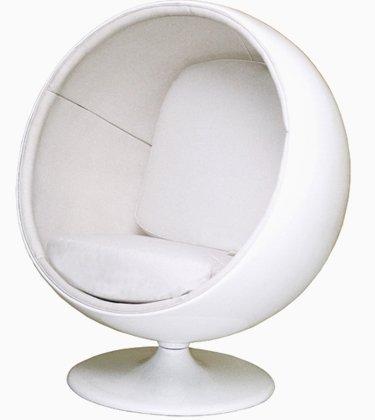 Admirable Eero Aarnio Ball Chair White White Amazon Co Uk Kitchen Inzonedesignstudio Interior Chair Design Inzonedesignstudiocom