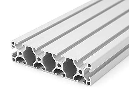 Zuschnitt 50mm-2000mm 50mm 8,00 EUR//m + 0,25 EUR pro Schnitt, min. 2,50 EUR Aluminiumprofil 30x30 B-Typ Nut 8
