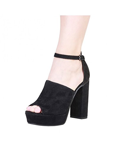 Sandals Black Cardin Micheline Pierre Black Women CZxqI