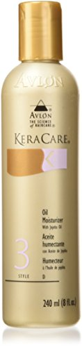 AVLON Keracare Oil Moisturizer with Jojoba Oil Unisex Moisturizer, 8 Ounce