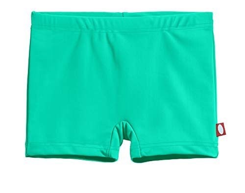 City Threads Girls' Swimming Suit Bottom Boy Short UPF50+ Sun Protection for Beach Pool Summer Fun, Aqua, -