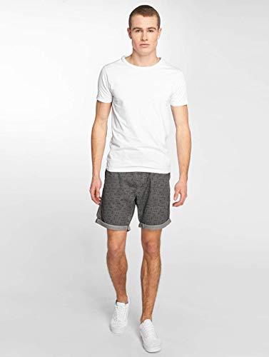 Grey Solid Gerry cortos y Pantalones Attitude pantalones Homme Short 8pH8gSq