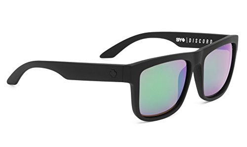 Spy Discord - Gafas de Sol (Bronce, Color Negro Mate, con ...