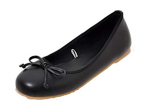 Non Agoolar Unie Fermeture Femme Chaussures D'orteil L Couleur Talon qqwpv