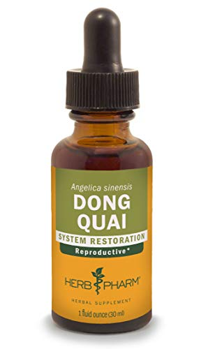 Herb Pharm Dong Quai Liquid Extract for Female Reproductive System Support - 1 Ounce