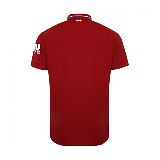 2018-2019 Liverpool Home Football Soccer T-Shirt Maillot (Mohammad Salah 11) - Kids