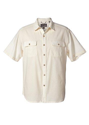 Royal Robbins Men's Cool Mesh Shirt, Creme, Large