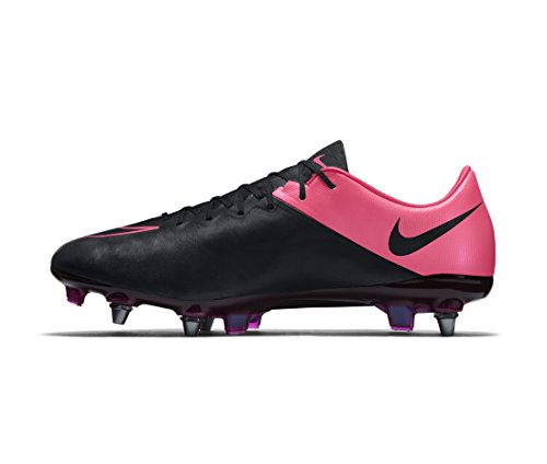 Nike Mercurial Vapor X Lthr SG-Pro, Scarpe da Calcio Uomo Noir