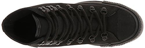Converse Chuck Taylor® All Star Vandrare Hi Läder 13.604, Svart Mono, Us 4 M