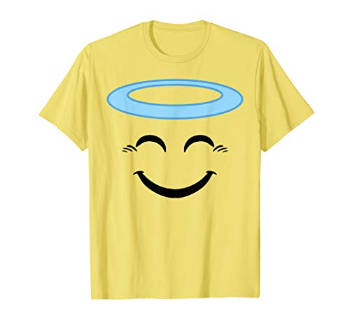 Halloween Emojis Costume Shirt Smiling Face With Halo -