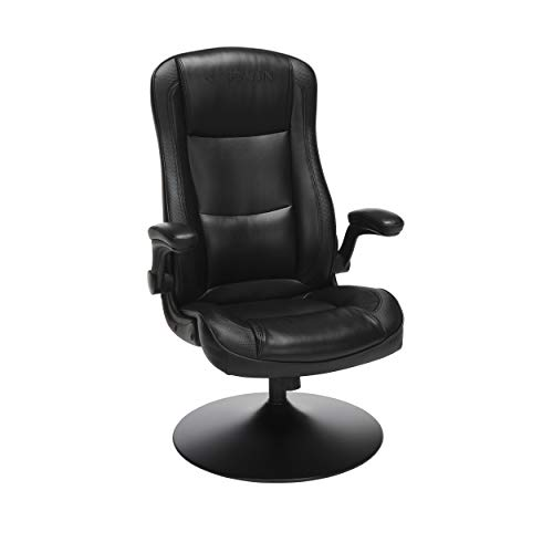 RESPAWN-800 Racing Style Gaming Rocker Chair, Rocking Gaming Chair, in Black (RSP-800-BLK-BLK)