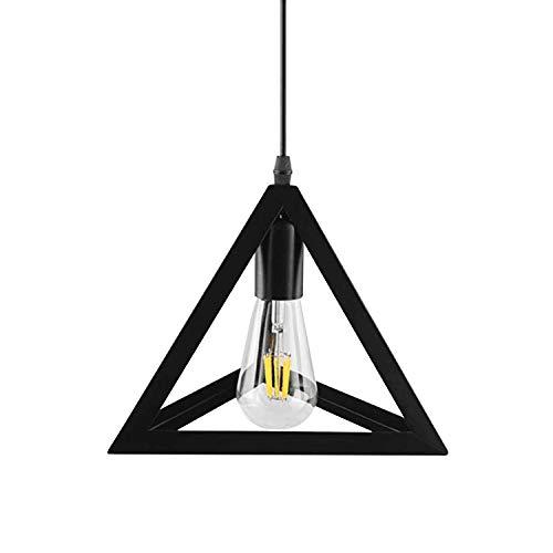 Betorcy Pendant Lighting Industrial Black, Metal Pendant Light, Hanging Lamp for Kitchen Island, Farmhouse, Bar