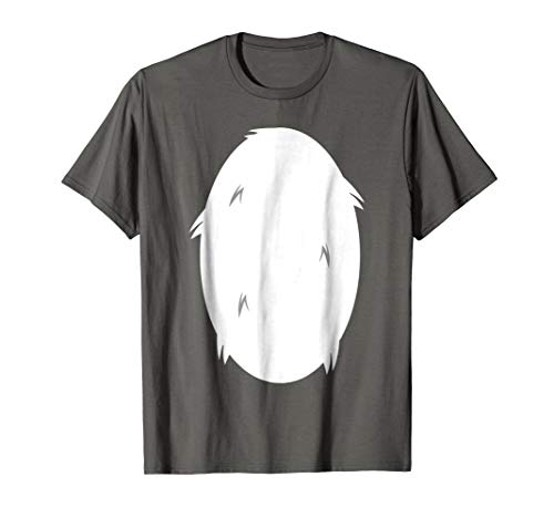 Panda White Stomach - Huskie White Belly Halloween Costume