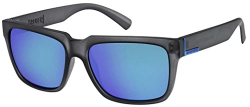 3f9fce3e5539 Quiksilver Bruiser Sunglasses - Matte Crystal Smoke   Flash - Sunglasses  Men Quiksilver