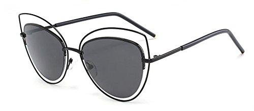 polarisées soleil métallique lunettes du Feuille retro Lennon en vintage A de cercle style Grise rond inspirées aBwEUfqE