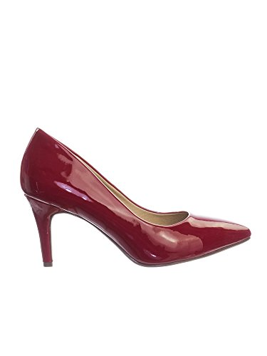 Lipstick Super Inner Pump Heel h Coen Foam Sole High Comfort Medium Classified Pointy Red Toe Memory Cushioned City BXaq5Z