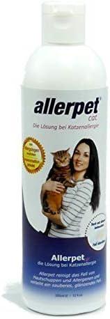 botella para alergia de pelo de animales, perro, gato, conejo, cobaya
