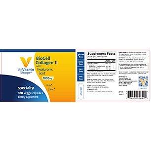 the Vitamin Shoppe Biocell Collagen II
