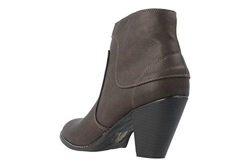 Damen Stiefeletten Machado Andres In Braun Übergrößen Schuhe O8Snqwn5H