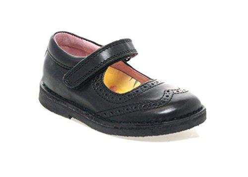 Chaussures Petasil Noirs Babies École Pour 2 Claret Cuir Filles Ovr0qZOw