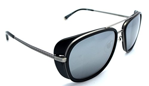 4b43c1e073 Matsuda M3023 Iron Man 3 Antique Silver with Matter Black Sunglasses ...