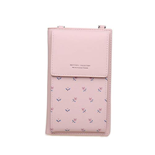 (Kukoo Small Crossbody Bag Cell Phone Purse Wallet with Credit Card Slots for Women)