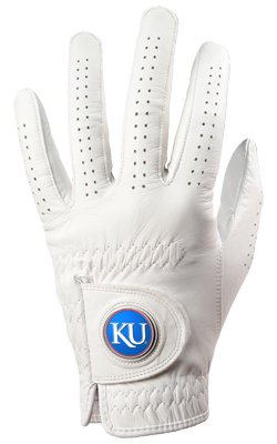 Kansas Jayhawks Golf Glove & Ball Marker – Left Hand – Small   B00BPJGYXW