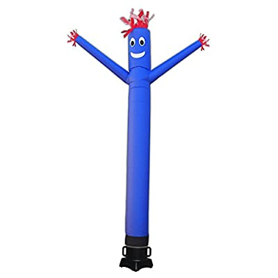 20ft Advertising Inflatable Tube Men Blow Up Giant Waving Arm Fly Puppet Christmas Decorative Signs for Business Store Party (No Blower)