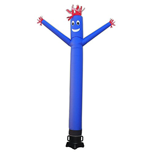 20ft Advertising Inflatable Tube Men Blow Up Giant Waving Arm Fly Puppet Christmas Decorative Signs for Business Store Party (No Blower)]()