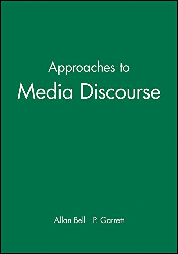 Approaches to Media Discourse by Brand: Wiley-Blackwell