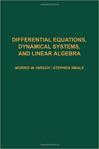 Differential equations dynamical systems and linear algebra pure differential equations dynamical systems and linear algebra pure and applied mathematics morris w hirsch stephen smale 9780123495501 amazon fandeluxe Image collections