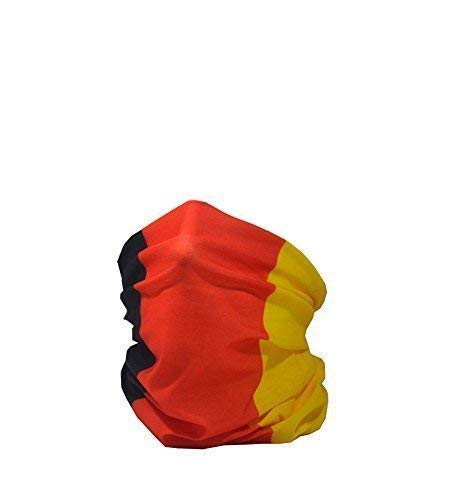 Ruffnek NATIONAL FLAG OF GERMANY/Bundes und Handelsflagge Multifunctional Headwear Neck warmer for Men, Women & Children RUFFNEK®