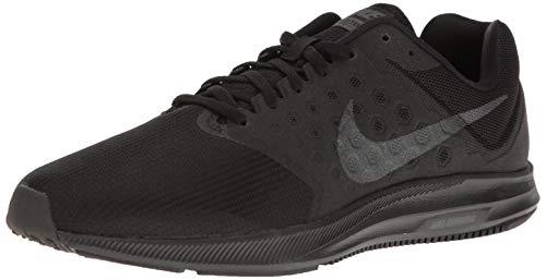 Nike Men's Downshifter 7 Running Shoe Black/Metallic Hematite/Anthracite 12 Regular US - Nike Mens Saddle