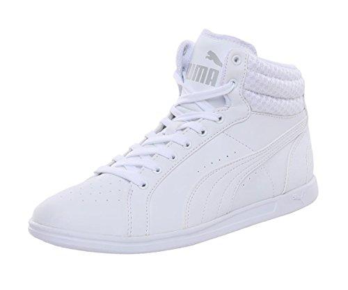 Femme Mid Ikaz Blanc Puma Sneakers V2 Basses 5pXwxCqg