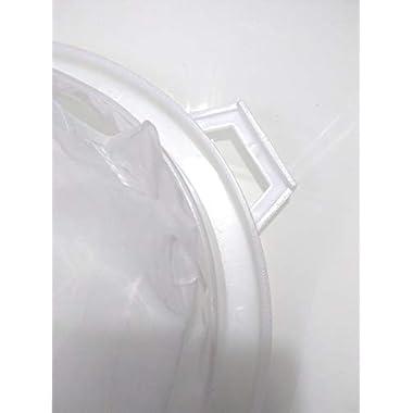 90 Degree Milk Stainer Garani Plastic Filter Mesh Nylon Milkcan Fitted (3 Pcs) for Dairy Imdustries 12
