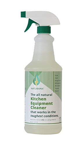 Degreaser Cleaner Natural (Naturama, All Natural Kitchen Equiptment Cleaner, Eco-Friendly EPA Registered. Made in The U.S.)