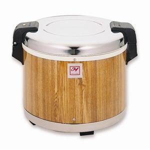 Thunder Group SEJ18000 Wood Grain 30-Cup (Cooked) Rice Warmer
