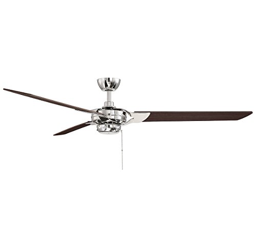(Savoy House Monfort 62 inch 3-Blade Ceiling Fan in Polished Nickel)