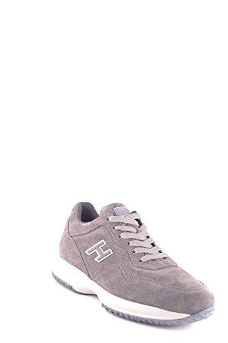 Hogan Mcbi148372o Sneakers In Camoscio Grigio