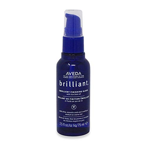 (AVEDA by Aveda BRILLIANT EMOLLIENT FINISHING GLOSS WITH RICE BRAN OIL 2.5 OZ for UNISEX)