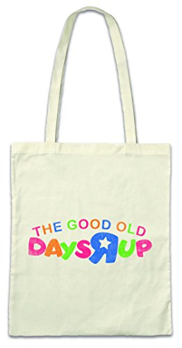 The Good Old Days R Up Hipster Bag Beutel Stofftasche Einkaufstasche